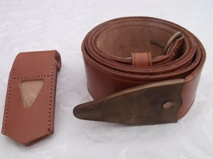 Belt & Frog leather